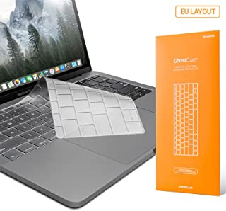 UPPERCASE GhostCover Premium Ultra Thin Keyboard Protector for MacBook Pro with Function Keys 13