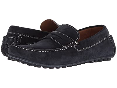 Robert Talbott Le Mans (Navy Suede) Men