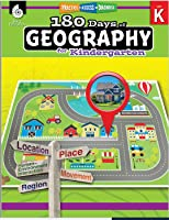 Workbook: 180 days of Geography - Daily Practice for Kindergarteners
