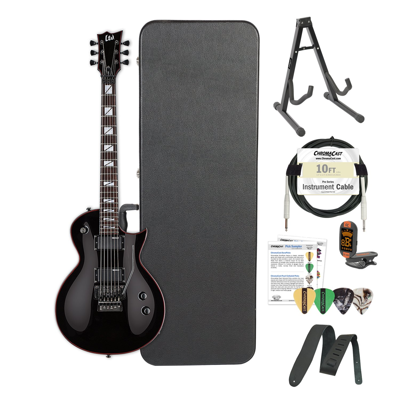 Cheap ESP LGH200BLK-Kit02 BLK Gary Holt Slayer Black Electric Guitar Black Friday & Cyber Monday 2019