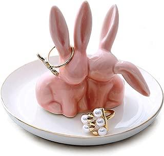 bunny jewelry dish