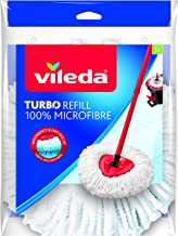 Vileda 152623 EasyWring and Clean Turbo Classic Microfibre Mop Refill Head, Multi-Colour