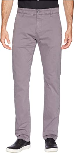 Johnny Slim Twill Chino in Stone Grey Twill
