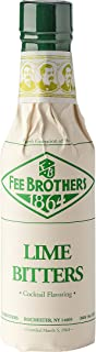 Fee Brothers Lime Cocktail Bitters - 5 Ounce Glass Bottle