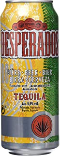 Desperados Cerveza - Caja de 24 Latas x 500 ml - Total:12 L
