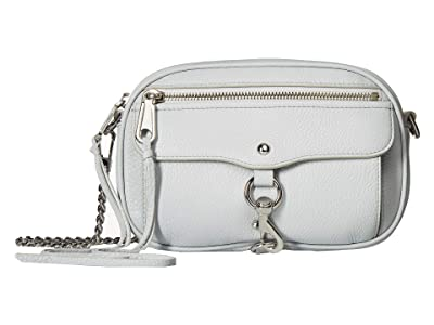 Rebecca Minkoff Blythe Crossbody (Ice Grey) Cross Body Handbags