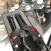 MZS ME-1068 Brake Clutch Short Levers Wheel Roller Adjustment Black