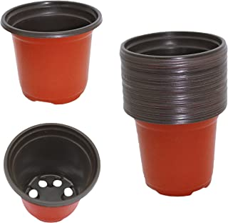 """Gard. Depot Pack of 24 Plastic Seed Starter Pots, Seed Starting Planters (Small 3.5"""" Diameter)"""