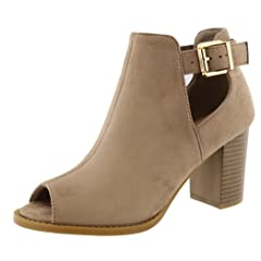 549ef8eb54d7f Peep toe booties - Casual Women's Shoes