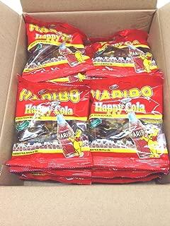 Haribo Gummi Candy, Happy Cola 80g x 24, 1 Box, Halal, 24 Bags