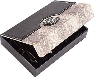 kiwi robust /& edel ! Fleur Royale Brillenbox Mehrbrillenetui Brillenetui mit Magnetverschluss Quartett Happiness f/ür bis zu 4 Brillen 246x175x51mm