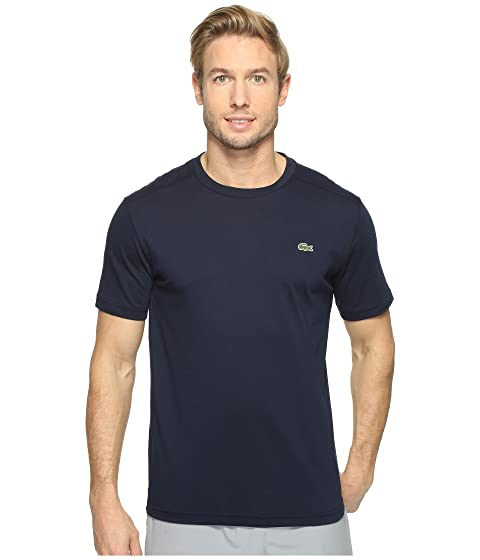 9ad12c95a30b Lacoste Sport Short Sleeve Technical Jersey Tee Shirt at Zappos.com