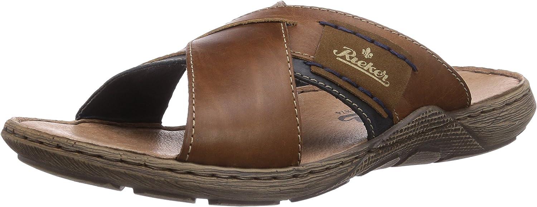Rieker herr 22099 22099 22099 -25 Läder Sandaler  E-handel