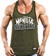 Monsta Clothing Co. Men's Monsta Genetics (RCBK139) Tanktop