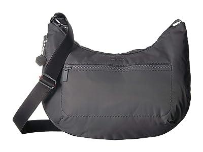 Hedgren Junket Large Crossbody with RFID Pocket (Tornado Grey) Cross Body Handbags