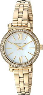 Michael Kors Women's MK3833 Analog Quartz Gold Watch