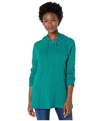 Jag Jeans Petite Petite Gemma Pullover Hoodie (Everglade) Women