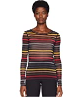 Sonia Rykiel - Printed Zyggy Mesh Long Sleeve Shirt