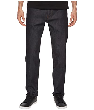 The Unbranded Brand Relaxed Tapered Fit in 11oz Indigo Stretch Selvedge (Indigo Stretch Selvedge) Men