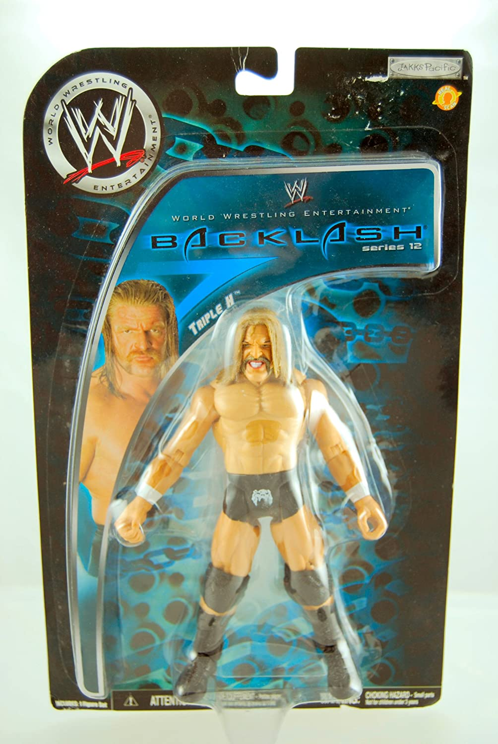 WWE  2008  Backlash Series 12  Triple H  Action Figure  Limited Edition ... by Jakks