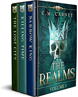 The Realms Box Set Volume 1: (Barrow King, The Lost City, Killing Time) (The Realms Boxed Set)