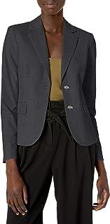Skylight Jones New York Cotton Linen Blend Colorblock Jacket