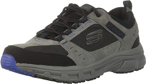 Skechers Hommes's Oak Canyon Oxford, Charcoal noir, 10.5 4E 4E US  vente d'usine en ligne discount