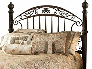 Hillsdale Furniture Chesapeake Headboard with Rails, Full/ Queen, Rustic Old Brown