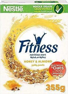 Fitness Honey & Almond Breakfast Cereal - 355 gm