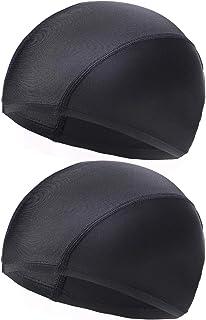VSPR スイムキャップ ゆったりサイズ メッシュ スポーツジム プール 透けない 厚め生地 同サイズ2枚組