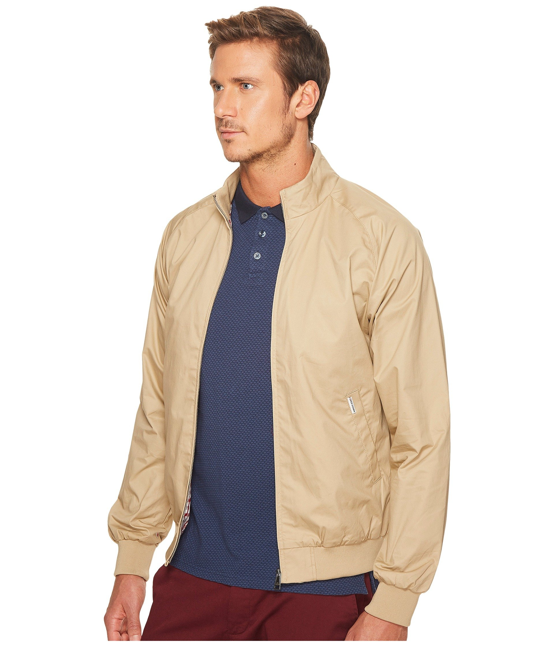 ben sherman updated harrington jacket at 6pm. Black Bedroom Furniture Sets. Home Design Ideas