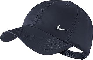 2d471751f07dd1 Nike Boys Kid's Swoosh Heritage 86 Cap-Obsidian/Metallic Silver, One Size
