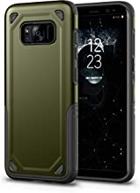 AI LuLu Case Compatible for Samsung Galaxy S8 Plus Full Body Shockproof Protective Phone Case Cover Anti-Drop with Bumper Frame Compatible Samsung Galaxy S8 Plus (Green)