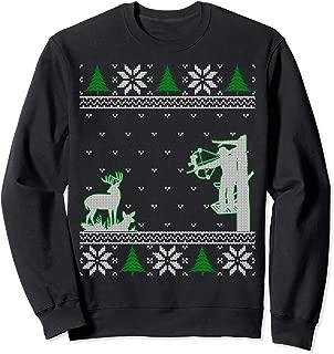 Hunters Ugly Hunting Christmas Sweater; Bowhunting Xmas Gift