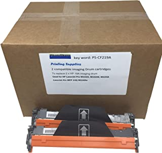 Compatible All-in-one MFP M132fw M132nw 19A Imaging Drum Cartridge for HP Laserjet Pro CF219A Laser Refill Printing Supplies (2 Pack)