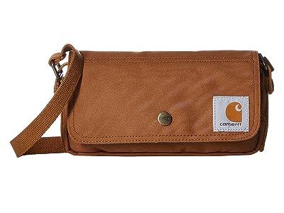 Carhartt Essential Crossbody Pouch (Carhartt/Brown) Handbags