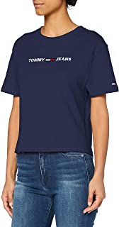 Tommy Hilfiger Tjw Modern Linear Logo Tee Camicia Donna