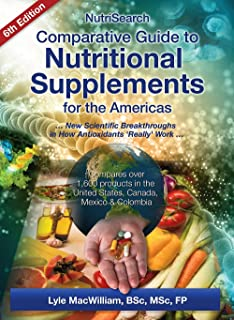 NutriSearch Comparative Guide to Nutritional Supplements for the Americas (6th Edition)