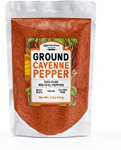 Ground Cayenne Pepper, 2 lbs. by Unpretentious Baker, High Quality & Fresh, Loaded with Nutritional Benefits, High in Anti...
