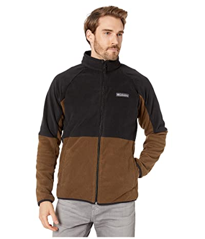 Columbia Basin Trailtm Fleece Full Zip Jacket (Olive Green/Black) Men