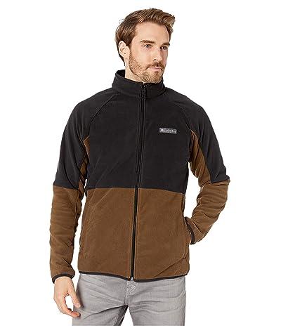 Columbia Basin Trailtm Fleece Full Zip Jacket (Olive Green/Black) Men