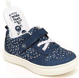 حذاء رياضي للبنات من Stride Rite 360 Dempse، أزرق وردي، مقاس 8 للأطفال في الولايات المتحدة