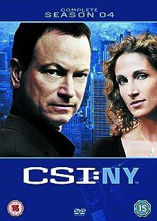 CSI: New York - Complete Season 4 [DVD] [Reino Unido]