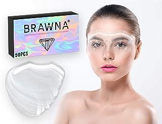 Eyebrow Shower Visor for Eyelash Extensions Eye Surgery Microblading PMU Aftercare Protective Water Mask Shield 50pcs
