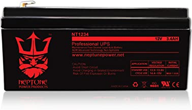 APC Back UPS ES 350, BE350E, BE350C, BE350R, BE350U Replacement Battery NT-1234 by Neptune