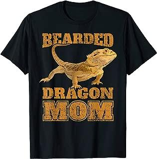 Bearded Dragon T Shirt Bearded Dragon Mom Mama Gift Tee