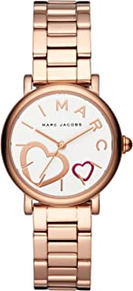 Marc Jacobs Women's White Dial Stainless Steel Band Watch - MJ3592
