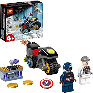LEGO Marvel Captain America and Hydra Face-Off 76189...