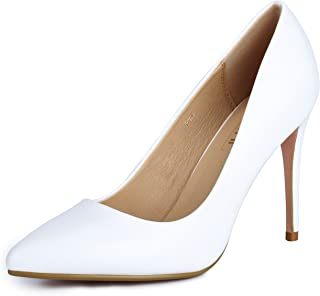 Women's IN4 Classic Pointed Toe Stiletto High Heel Dress Pump