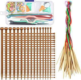 Home Supplies Carbonized Knitting Needle Pipe Ring Chunkyyarn Knitting Bamboo LI